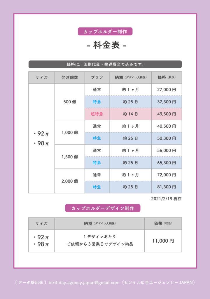 カップホルダー 韓国 費用 価格