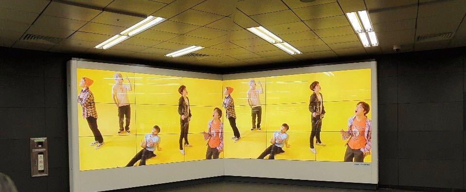 大型LEDスクリーン広告 センイル広告 代行業者